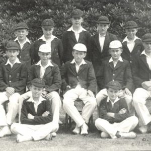 1947 1st XI At Branksome